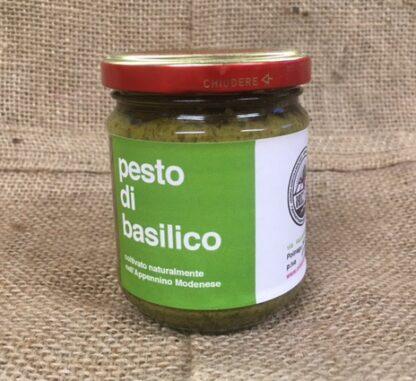 Pesto alla genovese dell'orto artigianale Radici Felici, consegna a domicilio Modena e provincia