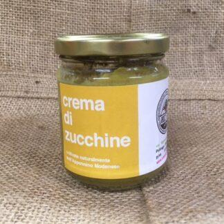 Crema di Zucchine dell'orto artigianale Radici Felici, consegna a domicilio Modena e provincia