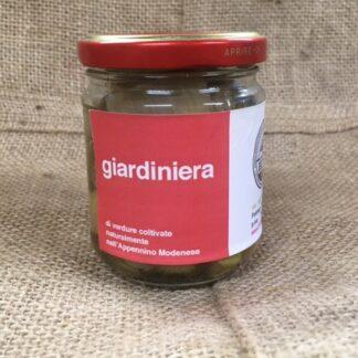 Giardiniera dell'orto artigianale Radici Felici, consegna a domicilio Modena e provincia
